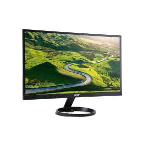 "ACER LCD R221QB - 21,5"", IPS, LED, FHD 1920x1080, 100M:1, 250cd/m2, 1ms, VGA, DVI, HDMI, BLACK"
