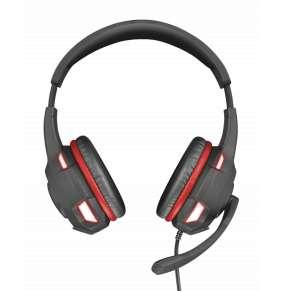TRUST Sluchátka GXT 407 Ravu Illuminated Gaming Headset
