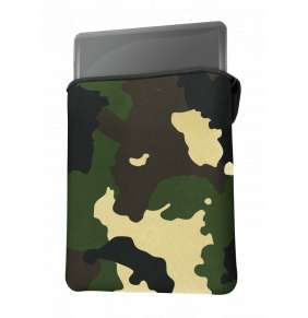 "TRUST Pouzdro na notebook GXT 1244C Lido 17.3"" Laptop Sleeve - jungle camo"