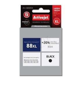 Atrament ActiveJet pre HP C9396/no.88/ Black 80ml