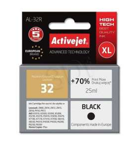Náplň ActiveJet  LEXMARK 18C0032 no.32 black 25ml