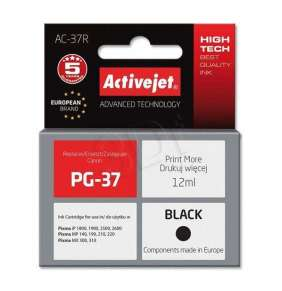 Atrament ActiveJet pre Canon PG-37 Black AC-37 12ml