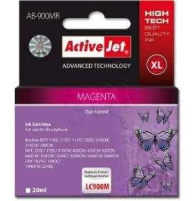 Atrament ActiveJet pre Brother LC900 Magenta ABR-900M