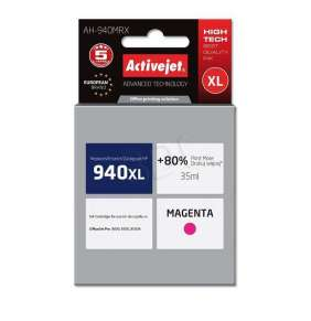 Náplň ActiveJet HP C4908 (no.940XL) magenta