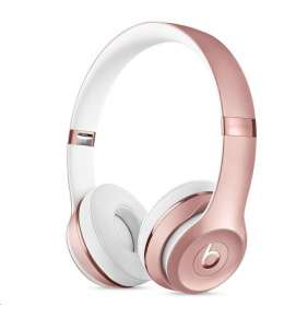 Beats Solo3 Wireless On-Ear Headphones - Rose Gold slúchadlá
