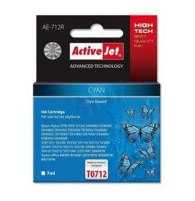Atrament ActiveJet pre Epson T0712 Cyan AE-712R