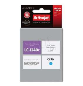 ActiveJet ink pre Brother LC1240C rem AB-1240CR  Cyan 7,5 ml Remanufactured
