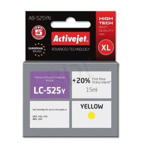 Atrament ActiveJet pre Brother LC525Y AB-525YN Yellow 15 ml