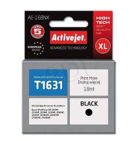 Activejet ink for Epson T1631  AE-16BNX Black 18 ml Compatible