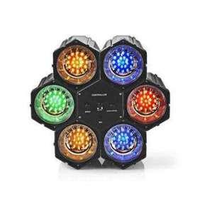 Nedis FUDI211BK6 - Lampa na Navození Atmosféry se Světelným Efektem   Vícebarevné   se 126 LED žárovkami