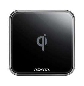 ADATA Charging pad CW0100, wireless, black / nabíjecí podložka, bezdrátová, černá