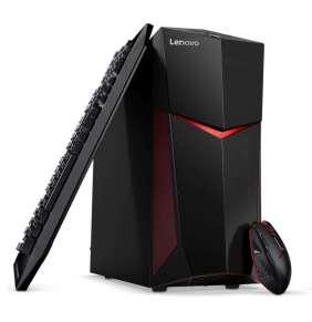 LENOVO IdeaCentre Legion Y520T-25 Intel i5-7400(3.0GHz) 8GB 1TB+128GB SSD GTX1060-3GB DVD Win10 čierny