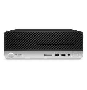 HP ProDesk 400G5 SFF i3-8100, 1x8GB, SSD 256GB NVMe, Intel HD, usb kláv. a myš, DVDRW, 180W bronze,  2xDP+VGA, Win10Pro
