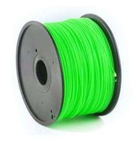 Tlačová struna Gembird ABS zelená | 1,75mm | 1kg