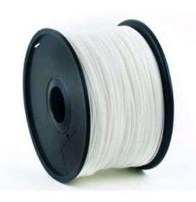 Tlačová struna Gembird PLA biela | 1,75mm | 1kg