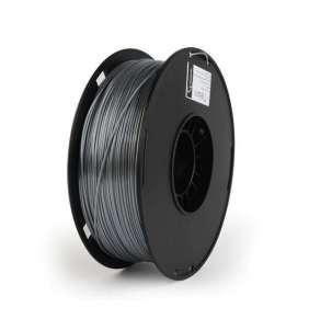 GEMBIRD Tisková struna (filament) PLA PLUS, 1,75mm, 1kg, stříbrná