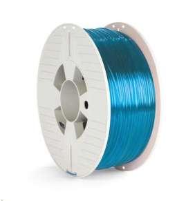 VERBATIM 3D Printer Filament PET-G 1,75mm ,327m, 1000g blue transparent