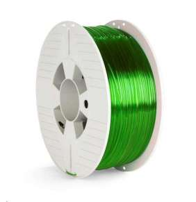 VERBATIM 3D Printer Filament PET-G 1,75mm ,327m, 1000g green transparent