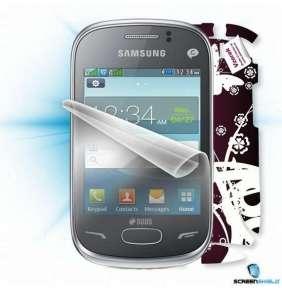ScreenShield fólie na displej + skin voucher (včetně popl. za dopravu k zákazníkovi) pro Samsung Rex 70 DUOS (S3802)