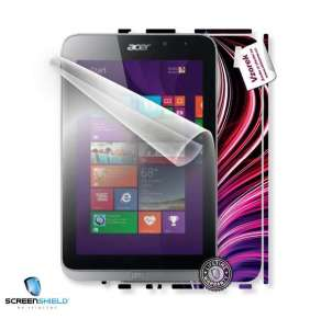 ScreenShield fólie na displej + skin voucher (včetně poplatku za dopravu k zákazníkovi) pro Acer ICONIA Tab W4-821