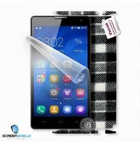 ScreenShield fólie na displej + skin voucher (včetně poplatku za dopravu k zákazníkovi) pro Huawei Honor 3C H30-U10
