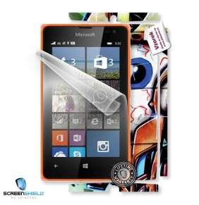 ScreenShield fólie na displej + skin voucher (včetně poplatku za dopravu k zákazníkovi) pro Microsoft Lumia 532