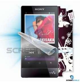 ScreenShield fólie na displej + skin voucher (včetně poplatku za dopravu k zákazníkovi) pro Sony NWZ-F805