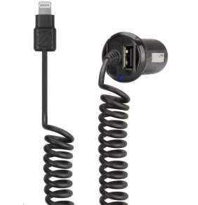 Scosche autonabijacka StrikeDrive s Lightning kablom a USB