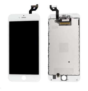 MicroSpareparts Mobile - iPhone 6s+ LCD Assembly White