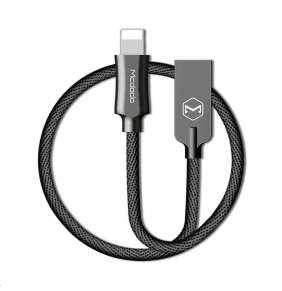 Mcdodo Knight Series USB AM To Lightning Data Cable (1.8 m) Black