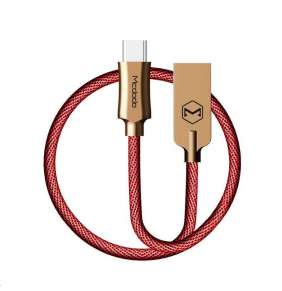 Mcdodo Knight Series USB AM To Type-C Data Cable (1 m) Red