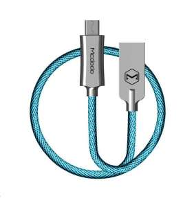 Mcdodo Knight Series USB AM To Micro USB Data Cable (1 m) Blue