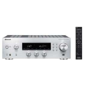 Pioneer SX-N30AE-S Pure audio síťový receiver s výkonem 2x110 wattů, stříbrný