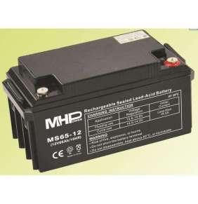 Pb akumulátor MHPower VRLA AGM 12V/65Ah (MS65-12)