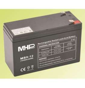 Pb akumulátor MHPower VRLA AGM 12V/9Ah (MS9-12)