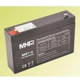 Pb akumulátor MHPower VRLA AGM 6V/7Ah (MS7-6)