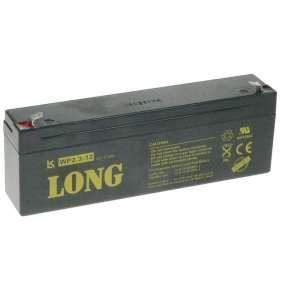 Baterie Long  WP2.3-12 (12V/2,3Ah - Faston 187)