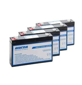 Bateriový kit AVACOM AVA-RBC34-KIT náhrada pro renovaci RBC34 (4ks baterií)