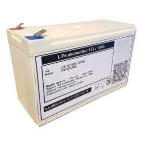 LiFePO4 lithium baterie MHPower 12V 10Ah