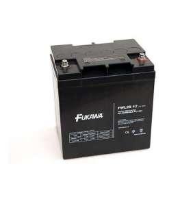 FUKAWA olověná baterie FWL 28-12 do APC/ AEG/ EATON/ Powerware/ 12V/ 28Ah/ životnost 10 let/ závit M5