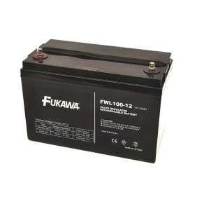 FUKAWA olověná baterie FWL 100-12 do APC/ AEG/ EATON/ Powerware/ 12V/ 100Ah/ životnost 10let/ závit M6