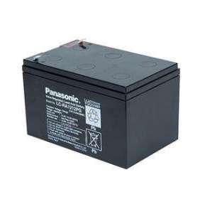 PANASONIC olověná baterie LC-RA1212PG1 do UPS APC/ 12V/ 12Ah/ životnost 6-9 let/ Faston F2-6,3mm