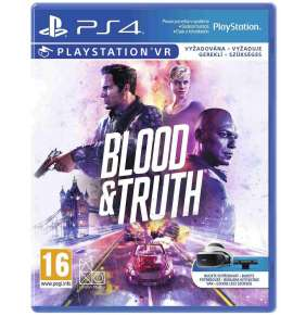 SONY PS4 hra Blood and Truth VR