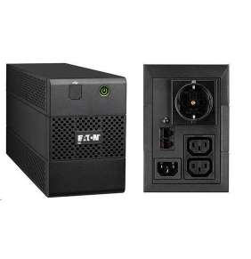 Eaton 5E 850i USB DIN, UPS 850VA / 480 W, 2 zásuvky IEC, 1 zásuvka schuko