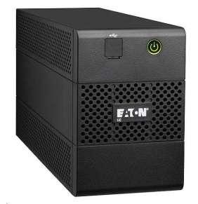 Eaton 5E 650i USB DIN, UPS 650VA / 360 W, 2 zásuvky IEC, 1 zásuvka schuko
