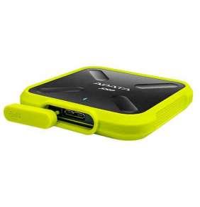 ADATA externy SSD SD700 1TBGB USB 3.1 3D TLC (čítanie/zápis: 440/430MB/s) žltá