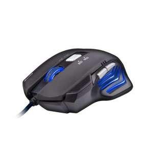 C-TECH herní myš AKANTHA, herní, modré podsvícení, 2400DPI, USB