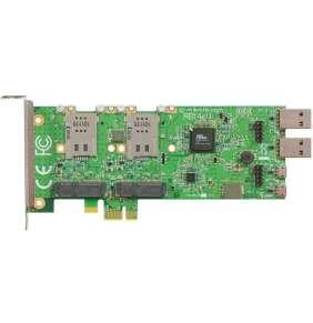 Mikrotik RB14eU 4 slot miniPCI-e to PCI-e adapter