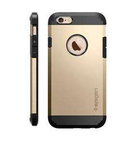 Spigen kryt Tough Armor pre iPhone 6/6s - Champagne Gold