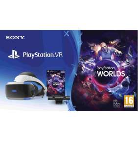 SONY PS4 PlayStation VR V2 + Eye Camera V2 + VR Worlds